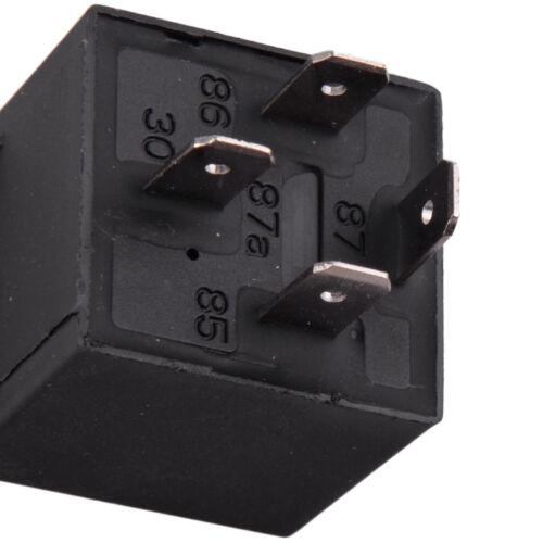 12V Kühlerlüfternachlauf Thermostat Relais Set Kit Schalter Sensor 175 185 Grad