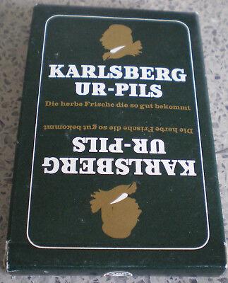 Sonstige WunderschöNen Saarland-karlsberg Brauerei Homburg/saar-altes Skatspiel-ur-pils-variante 1-top-