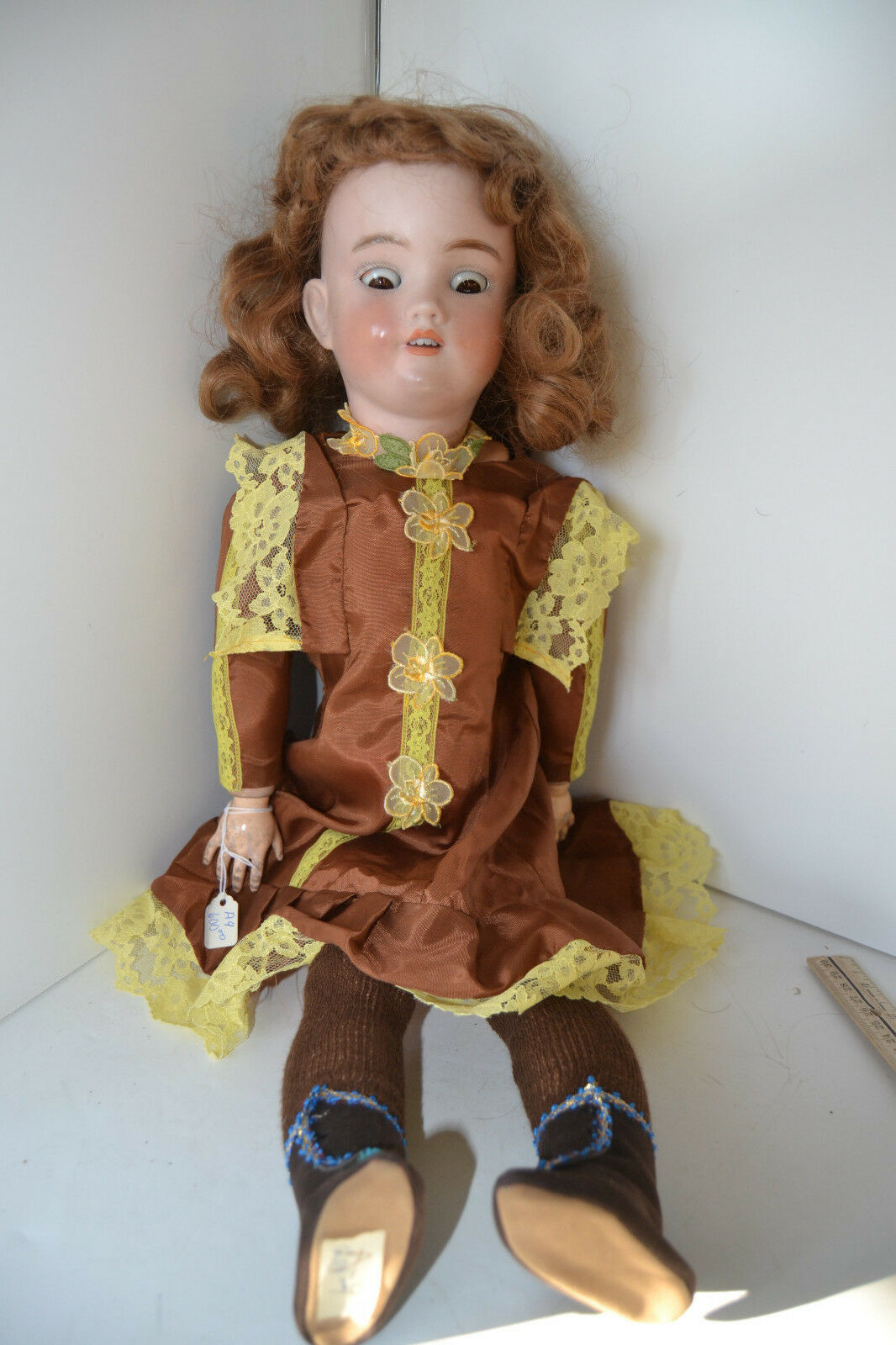 Gorgeous 25  Simon & Halbig Open Teeth Mouth  German Bisque Character Doll