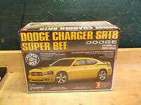 Lindberg Dodge Charger SRT8 Super Bee 1 24 Model Car Kit 2007 MIB