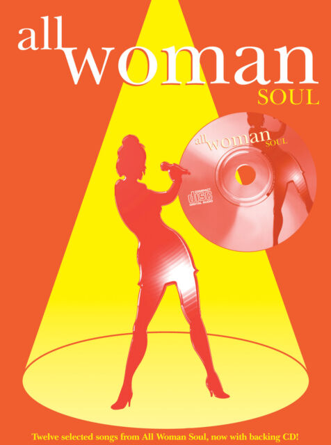 All Woman. Soul (PVG/CD) 0571527957 Piano, Voice, Guitar Book with CD Faber Musi