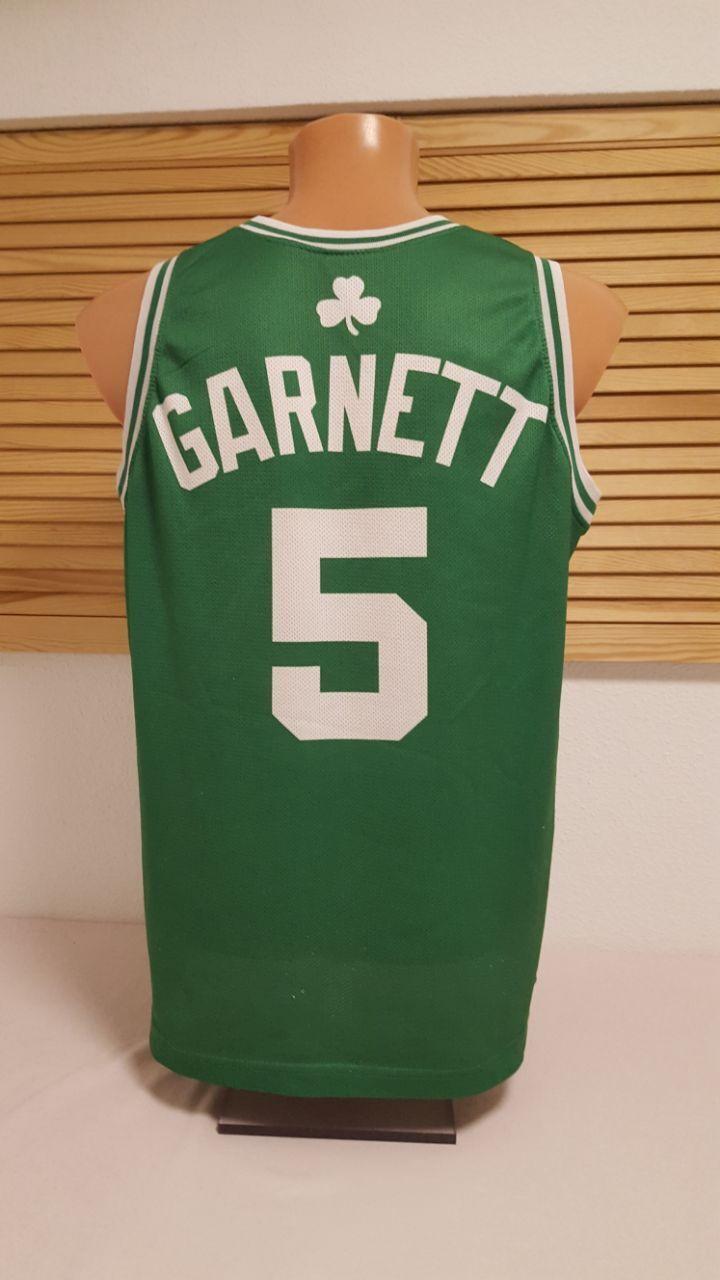 Boston Celtics Trikot NBA Garnett Champion Jersey Shirt Shirt Shirt Camiseta Maglia 42 S 432025