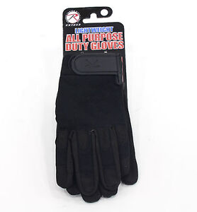 Black-SWAT-Police-Hunting-Airsoft-Paintball-Tactical-Shooting-Duty-Work-Gloves-L
