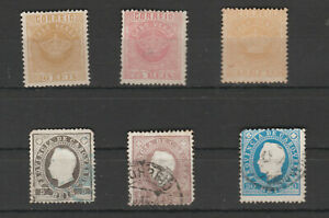 Portugal-Cape-Verde-Early-Stamps-selection