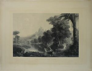 THE-VOYAGE-OF-LIFE-YOUTH-JAMES-SMILLIE-1807-1885-KUPFERSTICH-NATURALIST