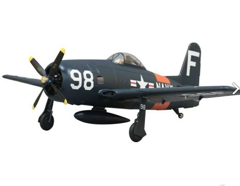 F8F Bearcat 1100mm PNP with Retracts - Arrows Hobby as seen in RCME
