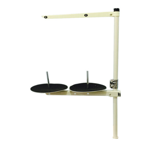 Industrial Steel Sewing Machine 2 Spool Thread Stand Holder for DIY Sewing