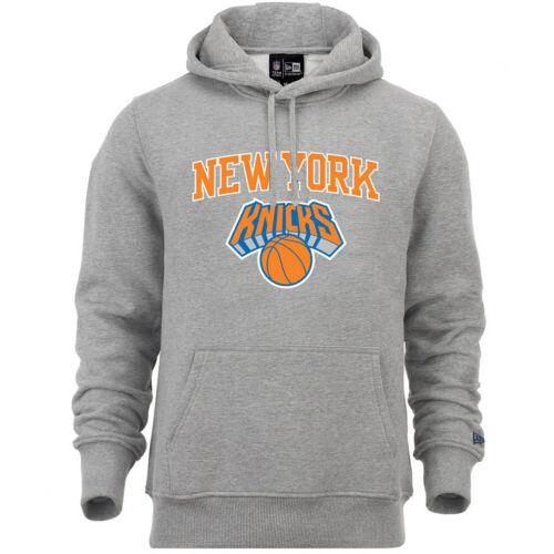 New Era Fleece Hoody NBA New York Knicks grau