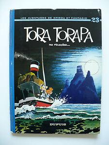 EO-bel-etat-Spirou-et-Fantasio-23-Tora-Torapa-1973-Fournier-Dupuis