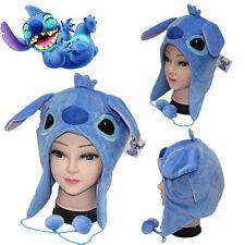 Anime Cartoon Soft Plush Warm Cute Lilo & Stitch Hat Winter Cosplay Cap Gift