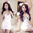 FD630 Women Costumes Cosplay Nurse Uniform Lingerie Fancy Dress Set Outfit Sexy/