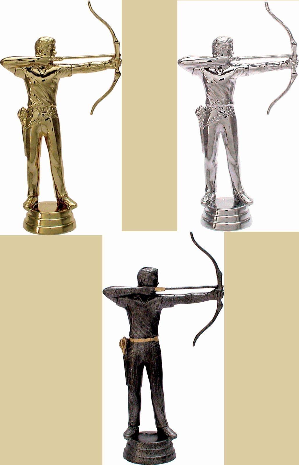 15 figuras projoeger arco Sagitario 3d con mármol zócalo (trofeos tiradores deportivos)