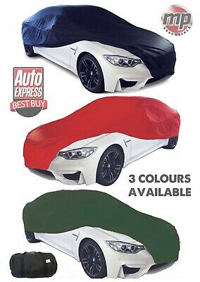 Para adaptarse a Ford Focus ST Transpirable Tela Cubierta de Coche Garaje /& Showroom de interior Rojo L