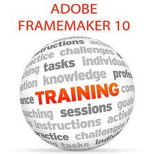 Adobe FRAMEMAKER 10 - Video Training Tutorial DVD