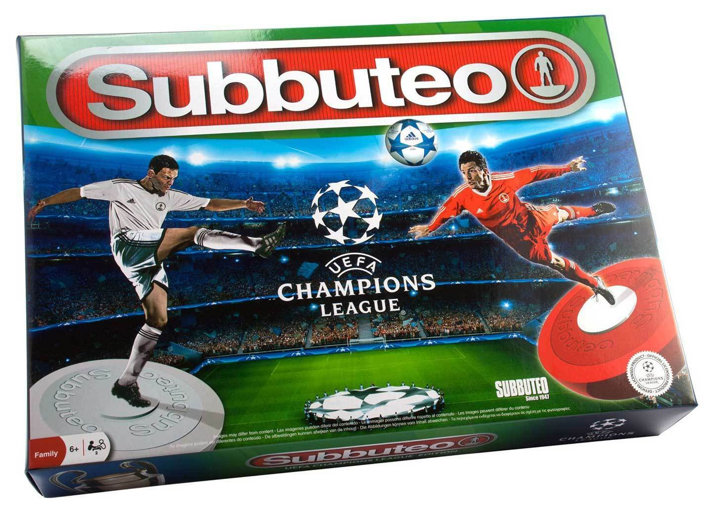 Subbuteo UEFA Champions League Edizione - Tavolo Partita di Calcio - Nuovo