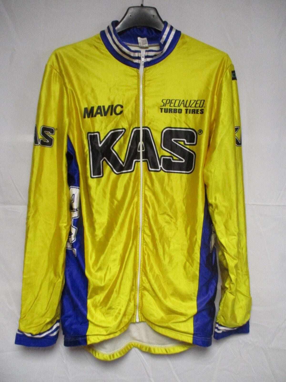 Veste cycliste KAS MAVIC SPECIALIZED jacke jacket giacca chaqueta amarillo 3 M