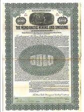 THE MONO-BALTIC MINING AND SMELTING COMPANY.....1909 FIRST MORTGAGE GOLD BOND