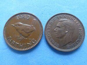 George VI Centime 1937-1952 Choisissez Date à 99p chaque-UK Post payé