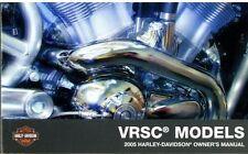 2005 Harley VRSC VROD V-ROD VRSCA VRSCB Owner's Owners Owner Manual NEW 99736-05