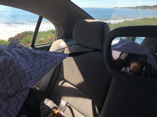 Newbie Shade Child and Infant Car Seat Shade Cover Protects Baby from the Sun