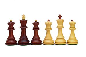 Roogu ruso 59' Zagreb CMI piezas de ajedrez juego de África madera de Pado  hecho a mano