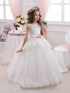 Details About Beautiful First Communion Dress For Girls 8 To 14 Years Show Original Title