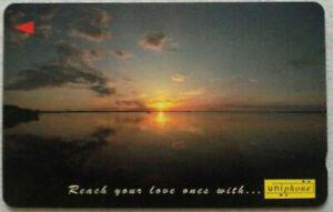 Malaysia-Used-Phone-Card-Sunset