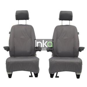 Single Heavy Duty Driver Captain Seat Cover Waterproof VW CADDY ALL YEARS