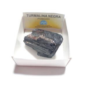 Turmalina-Negra-Piedra-En-Bruto-Natural-Mediana-en-Cajita-de-Coleccion