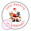 Personalised-Christmas-Sticker-Father-Xmas-Santa-Reindeer-Sweet-Cone-Gift-Hamper thumbnail 9