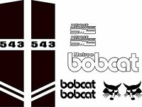 543 Repro Decals / Decal Kit / Sticker Set Us Seller Free Shipping Fits Bobcat