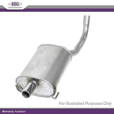 Genuine EEC Exhaust Pipe Back Box End Rear Silencer