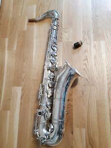 Selmer-Paris-Tenor-Saxophon-Model-26-Tenorsaxophon-Vintage-Eb-Extra-Trill-Keys