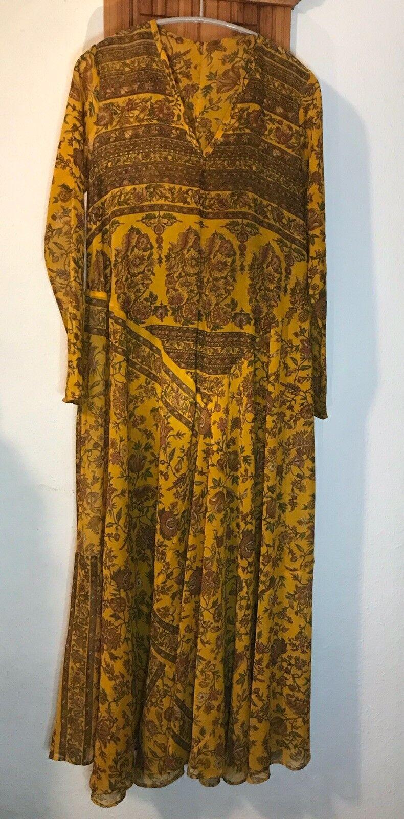 Sommer Kleid Boho Hippie Lagenlook Anarkali Kaftan Maxi G. 42-44