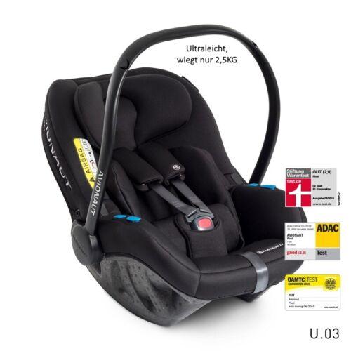Avionaut Pixel Babyschale Car Seat Berlin Black lightweight ultraleicht 0-86cm