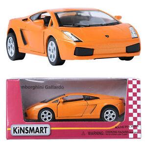 Kinsmart 1 32 Lamborghini Gallardo Lp560 4 Spyder Orange Display