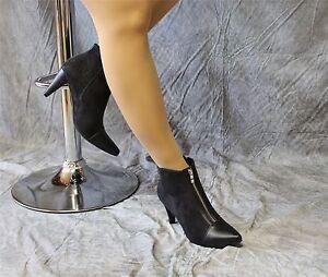 elegante-Velour-Stiefeletten-schwarz-mit-Reissverschluss-Andrea-Conti
