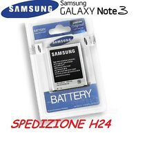 BATTERIA ORIGINALE SAMSUNG GALAXY NOTE TRE 3 III N9000 SM-N9005 EB-B800BE NUOVA