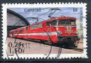 Stamp / Timbre France Oblitere N° 3412 Chemin De Fer / Train / Capitole
