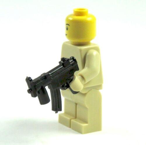 5 Custom armes fusil MG MP pistolet pour LEGO ® personnages SWAT policier soldat