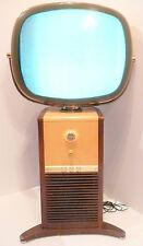 "MID-CENTURY MODERN CLASSIC * PHILCO PREDICTA TV - 45"" HIGH / 20"" SCREEN LIGHTS"