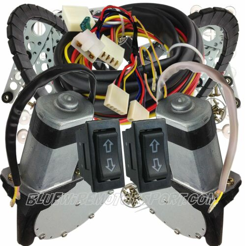 DATSUN 620 1200 1600 180B B10 120Y 2 DOOR P0WER WIND0W KIT 40amp Motors