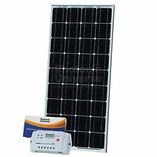 100W 12V solar charging kit with 10A controller 5m cable for camper caravan boat