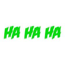 Ha Ha Ha Decal Joker Laugh Sticker Choose Color Size