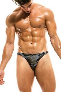 87e83323a6 Modus Vivendi Camo Marine Swim Low Cut Brief men's beachwear slip ...