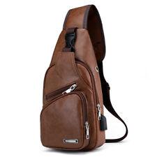 bf2553371 item 2 UK Men's Sling Bag Genuine Leather Chest Shoulder Backpack Cross  Body Purse -UK Men's Sling Bag Genuine Leather Chest Shoulder Backpack  Cross Body ...