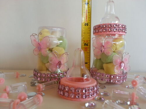 12 Fillable Butterfly Bottles Favors Prizes or Games Baby Shower Twin Decoration