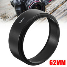 Screw Mount Black Durable GuiPing 77mm Lens Hood for Cameras
