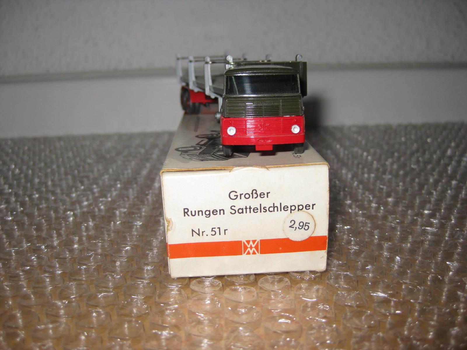 Wiking courirgensattelzug HENSCHEL  HS 14 in neuf dans sa boîte s28  vente en ligne
