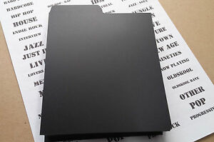 100-CD-DIVIDERS-BLACK-MUSIC-COLLECTION-PLASTIC-INDEX-CARDS-record-shop-display